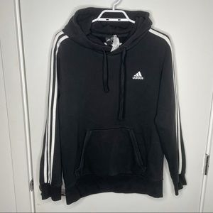 Adidas Originals black & white hoodie